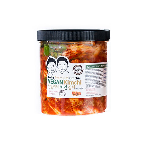 Twins Premium Sliced Vegan Kimchi 32oz