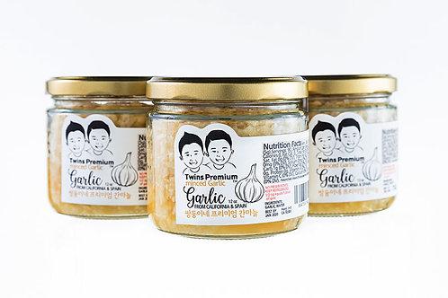 Twins Premium Minced Garlic 3Pack 12oz