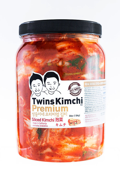 Twins Premium Sliced Kimchi 64oz