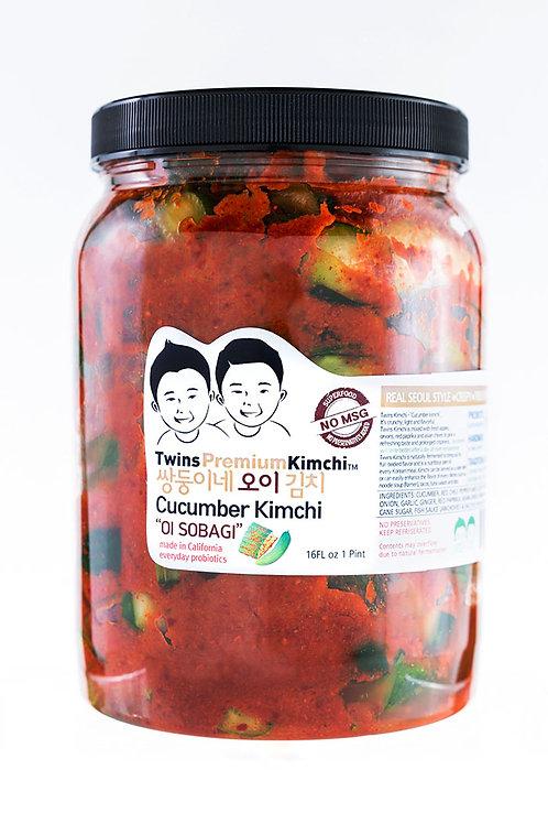 Twins Premium Cucumber Kimchi 64oz