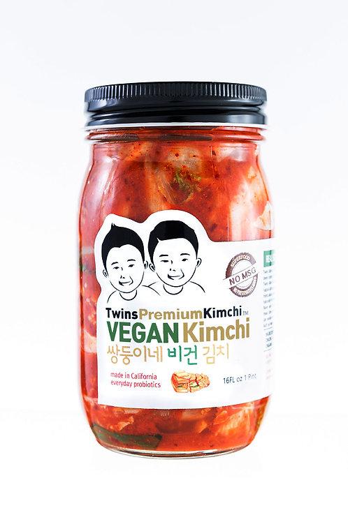 Twins Premium Sliced Vegan Kimchi 16oz