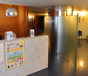 DermoEstetica Viareggio. L'ingresso.