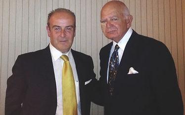 Sam Hamra il primo chirurgo plastico al mondo per il composite lifting del viso e collo e il Dott. Emilio Betti