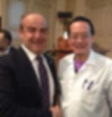 Woffles Wu l'esperto mondiale di microbotulino e il Dott. Emilio Betti