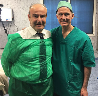 Brian kenney il chirurgo delle star di Hollywood e il Dott. Emilio Betti