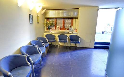 sala d'attesa. DermoEstetica Viareggio.