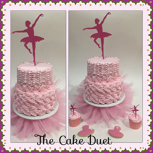 1 or 2 Tier -  Dancer Starting from $