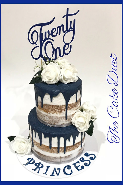 2 Tier Drip cakes - prices from