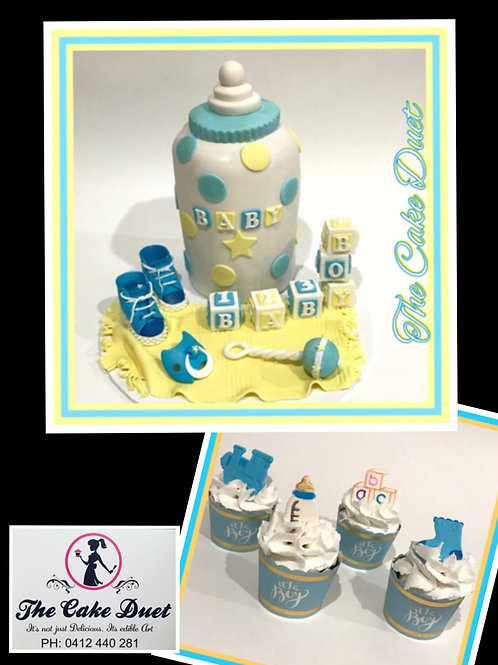 Assorted Baby shower cakes - from