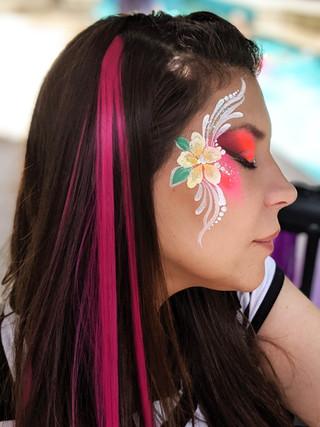 tropical flower and unicorn hair.jpg