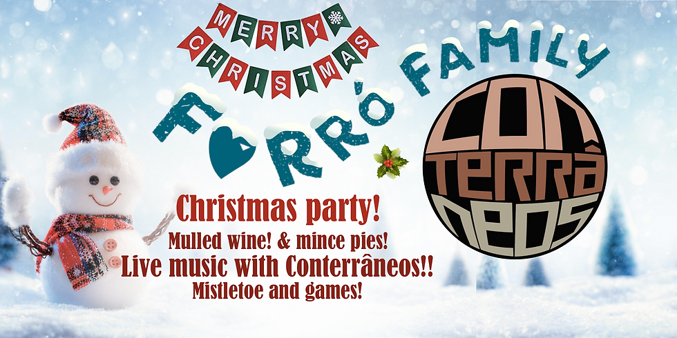 Christmas party - Live music with Conterrâneos!