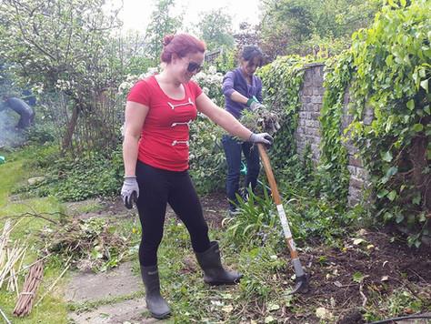 Gardening takes off