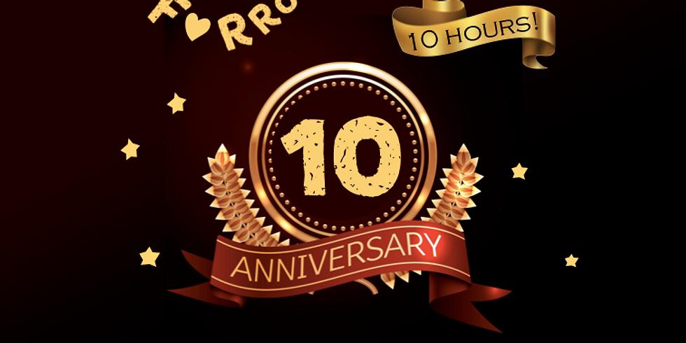 10 years anniversary!