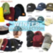 冬 帽子コレクション 人気 ニット帽 キャップ ベレー-min.jpg