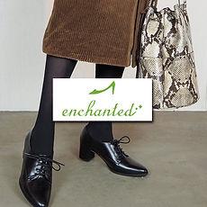 enchanted エンチャテッド レザーシューズ.jpg