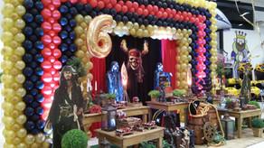 Painel de Balões para Rio Claro