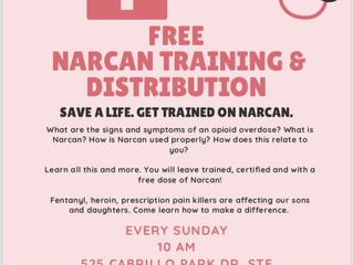 Free Narcan Training & Distribution