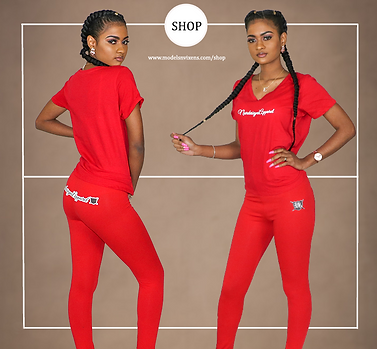 The Summer Red Sports Suit