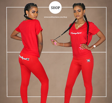 Summer Red Sports Suit.png