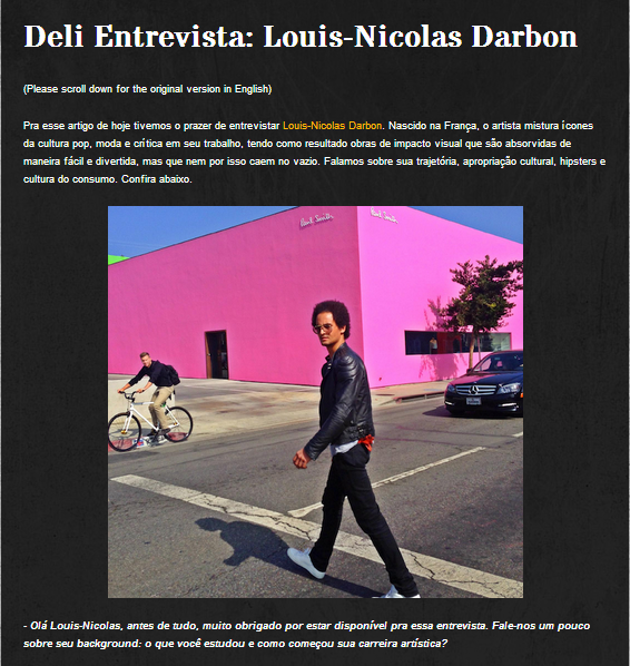 Deli Intervista Brazil
