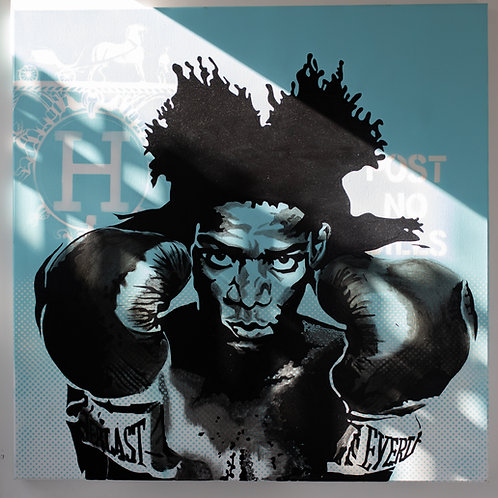 Boxing BASQUIAT