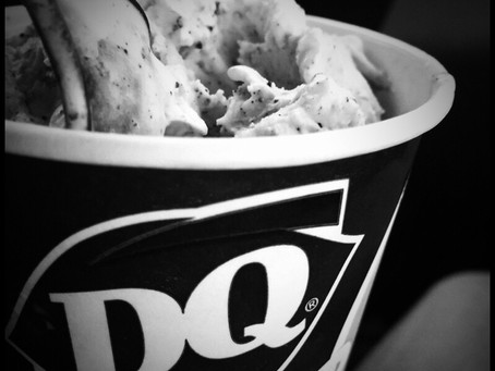 An Oreo Blizzard. Amazing in all ways.