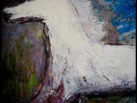 Oil on plaster