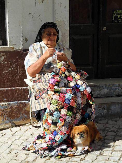 Jupons Nazaré, Portugal