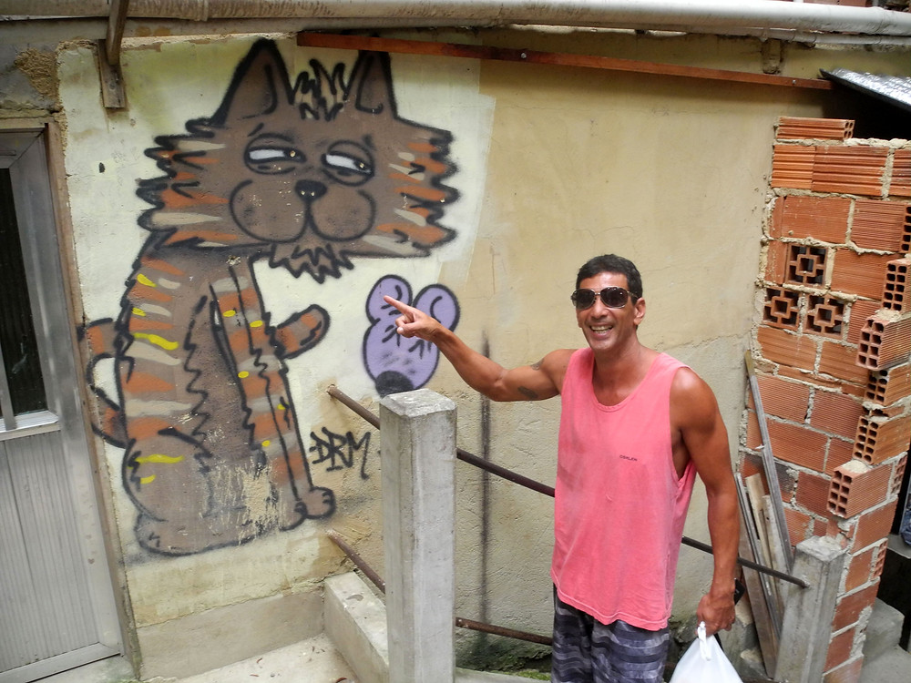 Le surnom de Jair : Gato seco, le chat sec, parce qu'il bouge tout le temps mais ne transpire jamais !