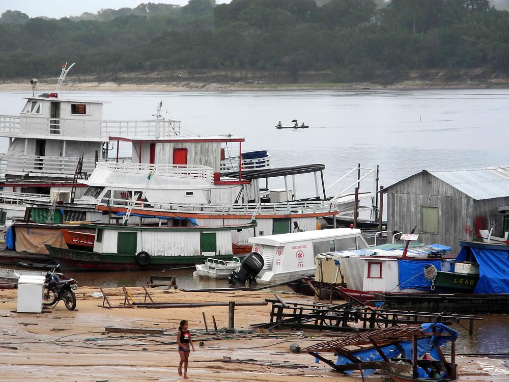 Embarcadère de Novo Airão.