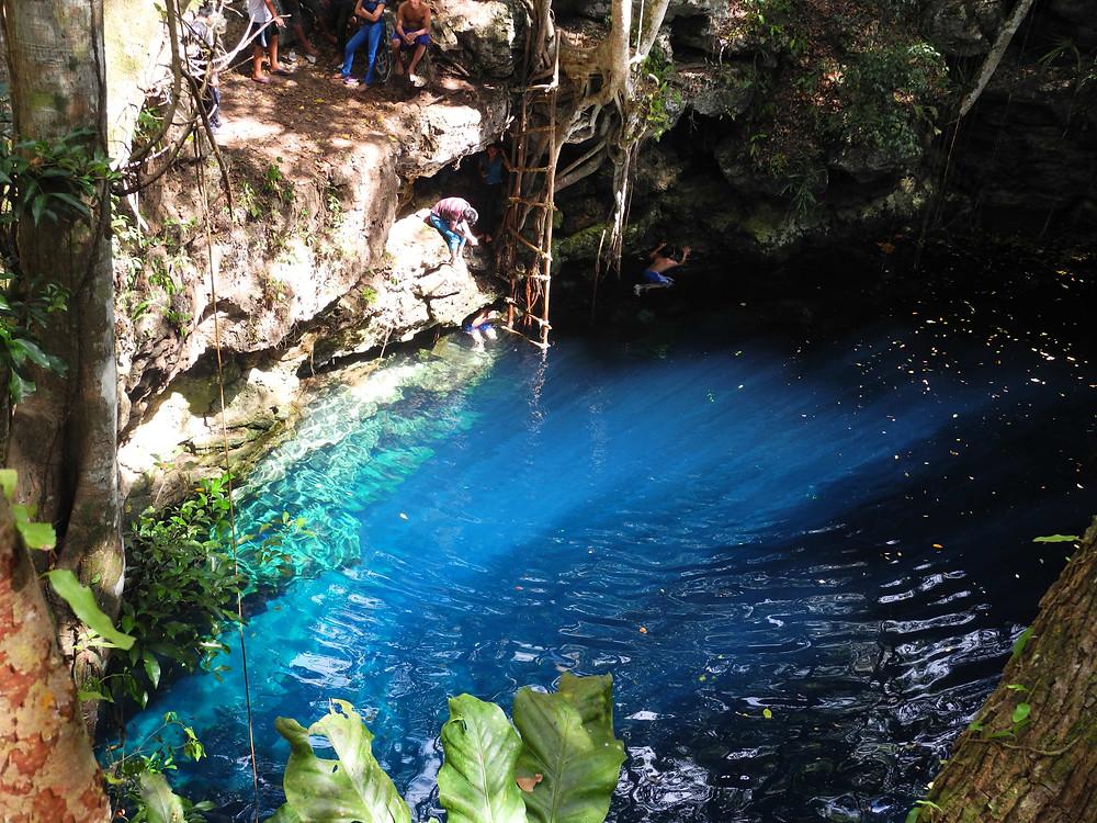 Cenote de Hamtun, Dzula.