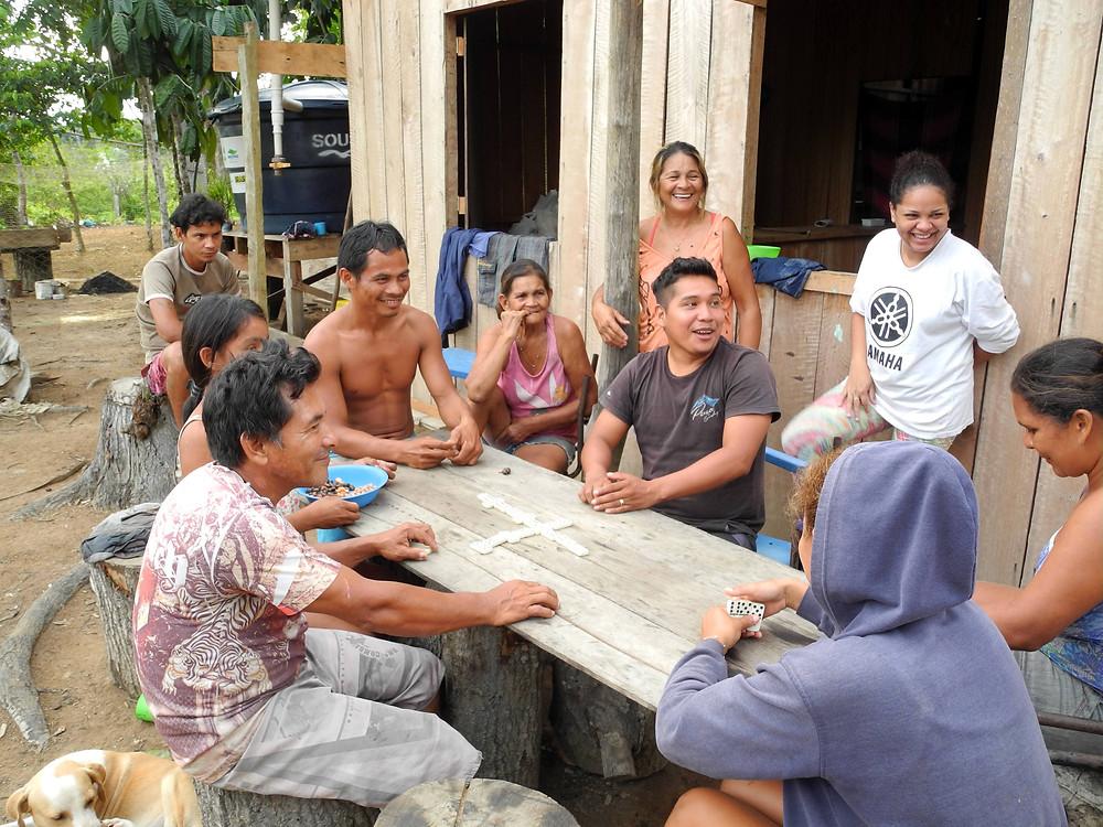 Dominos dans la communauté Sobrado.