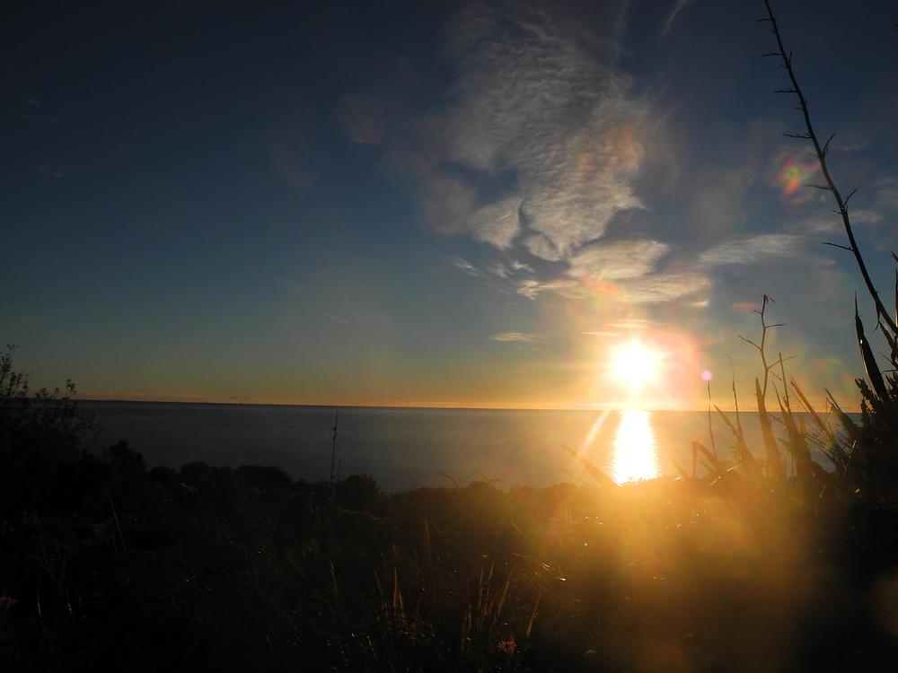 Les matins sont d'or sur la Golden Bay