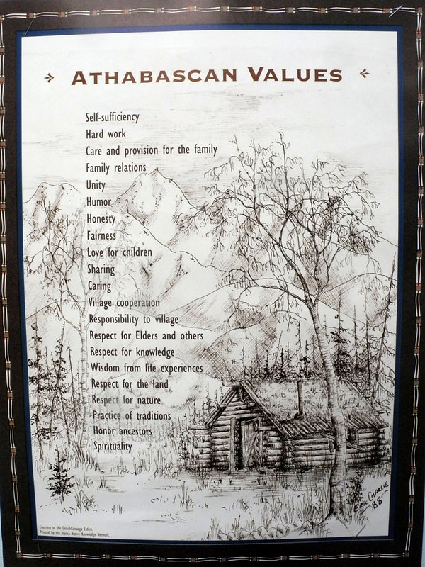 athabascan values