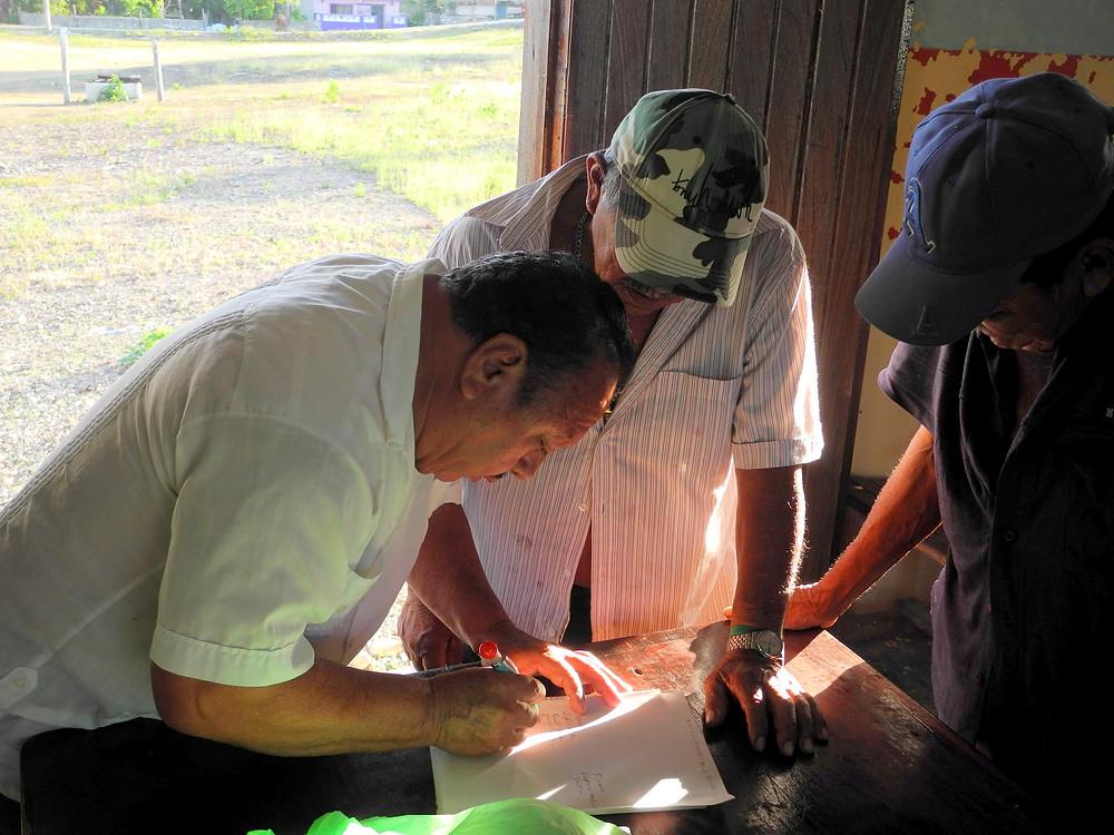 La communauté s'engage à soutenir les projets écotouristiques de Don Damian