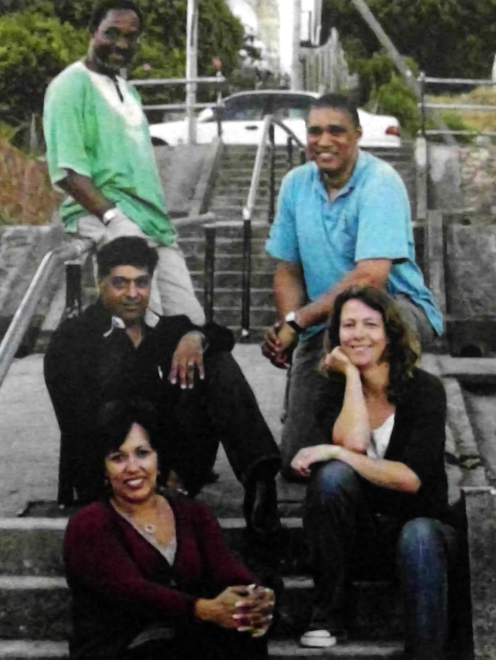 Indiens, Métis, Noirs ou Blancs... la différence n'est plus faite depuis longtemps dans l'équipe de direction de SPP