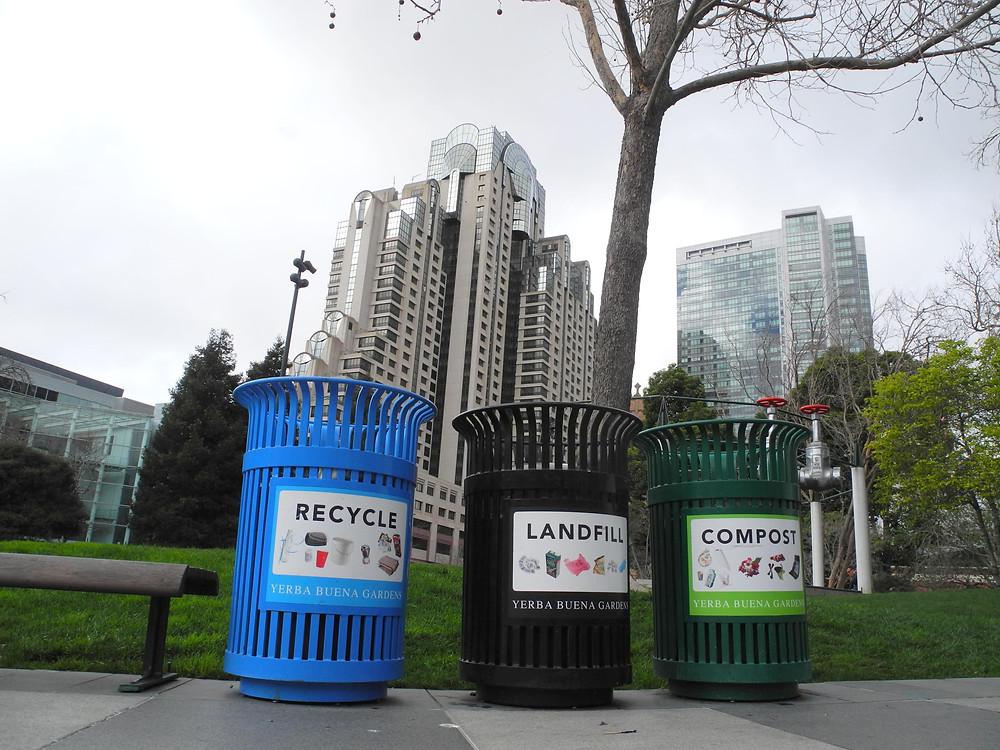 Les trois poubelles de San Francisco ; facile, non ?