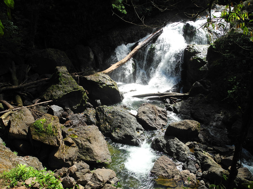 La cyclopéenne cascade du Rio Agujitas.