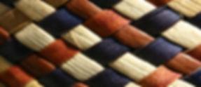 Raranga bleu-blanc-rouge