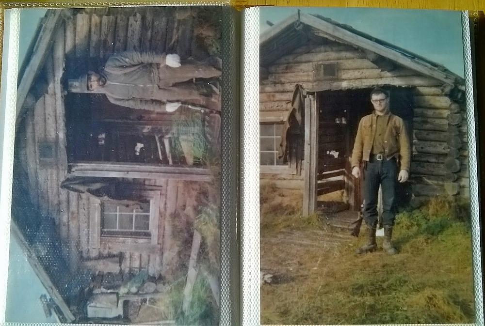 Des vieilles photos du premier hiver de Bob le trappeur en Alaska