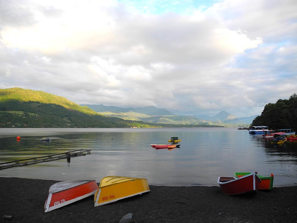 La région Araucanie, entre lacs et montagnes...