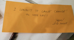 Participant's Commitment after Counseling Course