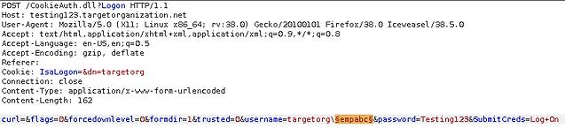 Owa User Enumeration