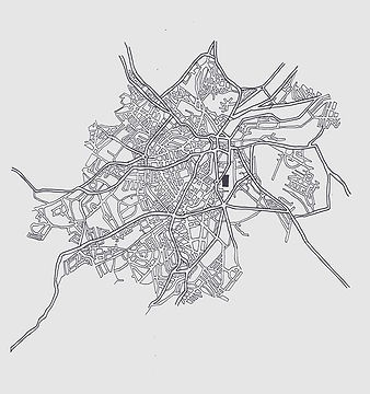 Map illustration. For _readthegrid #5 -
