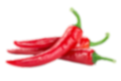 Red hot chili pepper isolated on a white