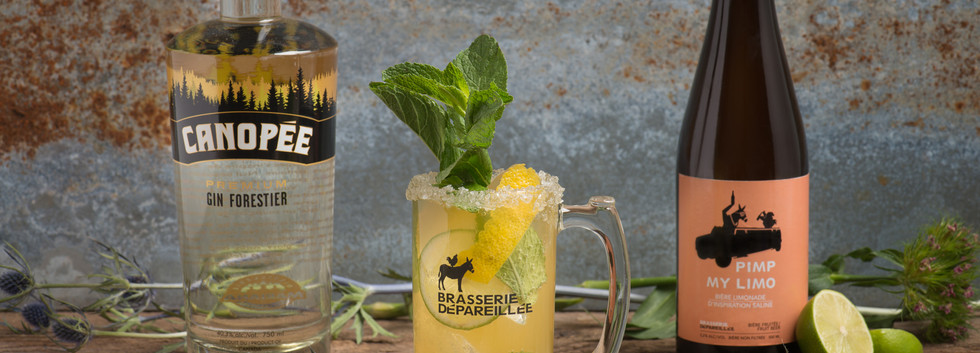 Cocktail Pimp my Limo et gin Canopée