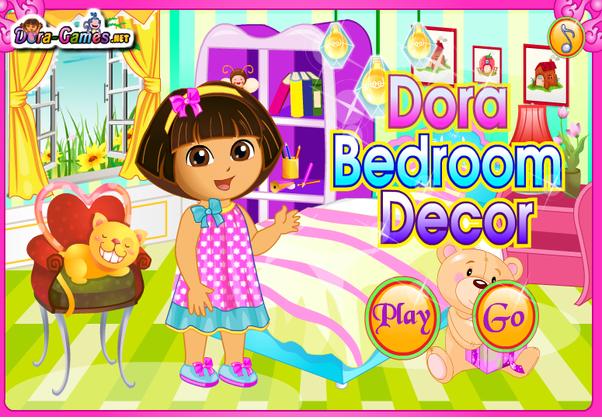 Games 2 Girls Dora Bedroom Decor