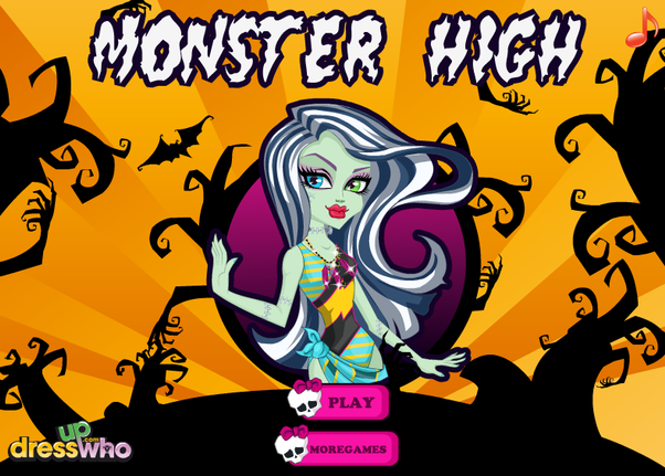 Games2girls Monster High Party