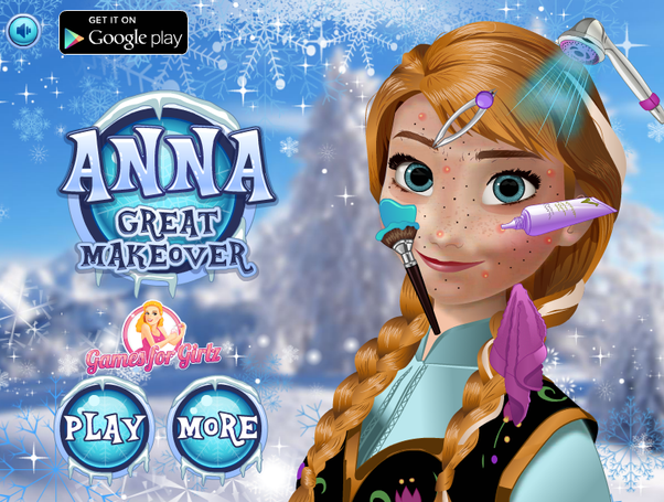 Games Anna Great Makeover
