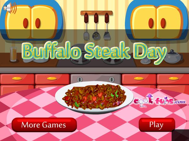 Games2girls Buffalo Steak Day